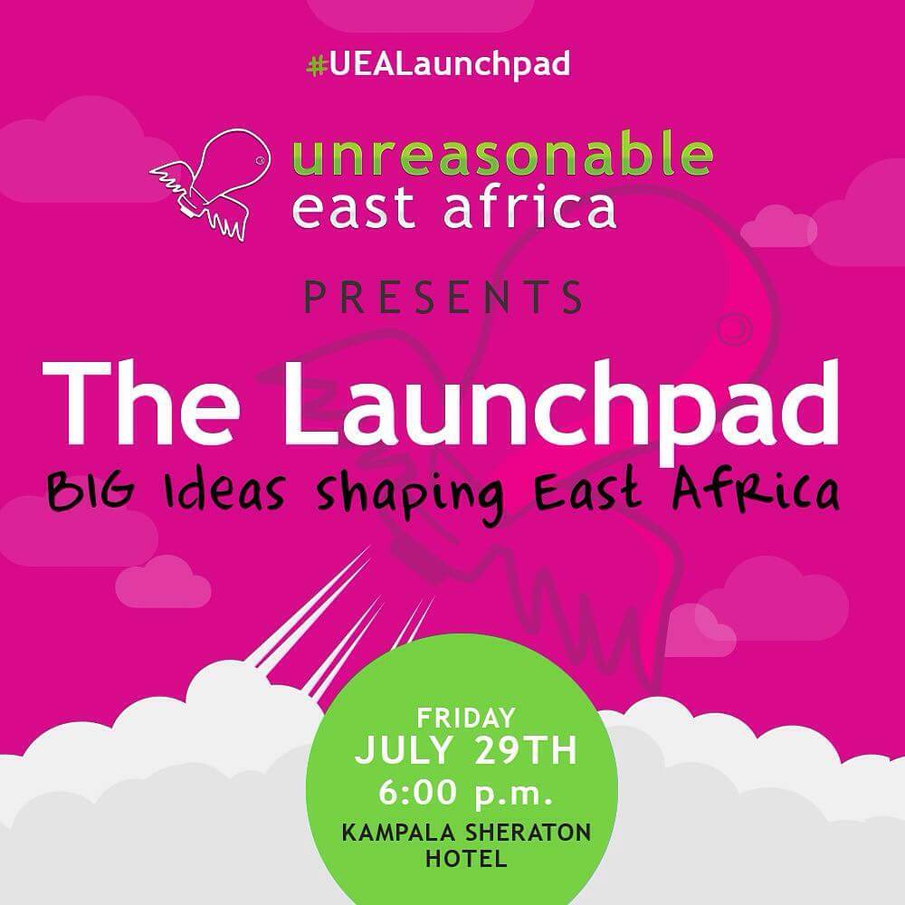 Be Unreasonable! Watch 8 ventures from all over East Africa share their BIG ideas on how to tackle the region's greatest challenges at the 2016 Unreasonable Launchpad on July 29 in Kampala, Uganda. Get your tickets at http://bit.ly/29BOkND