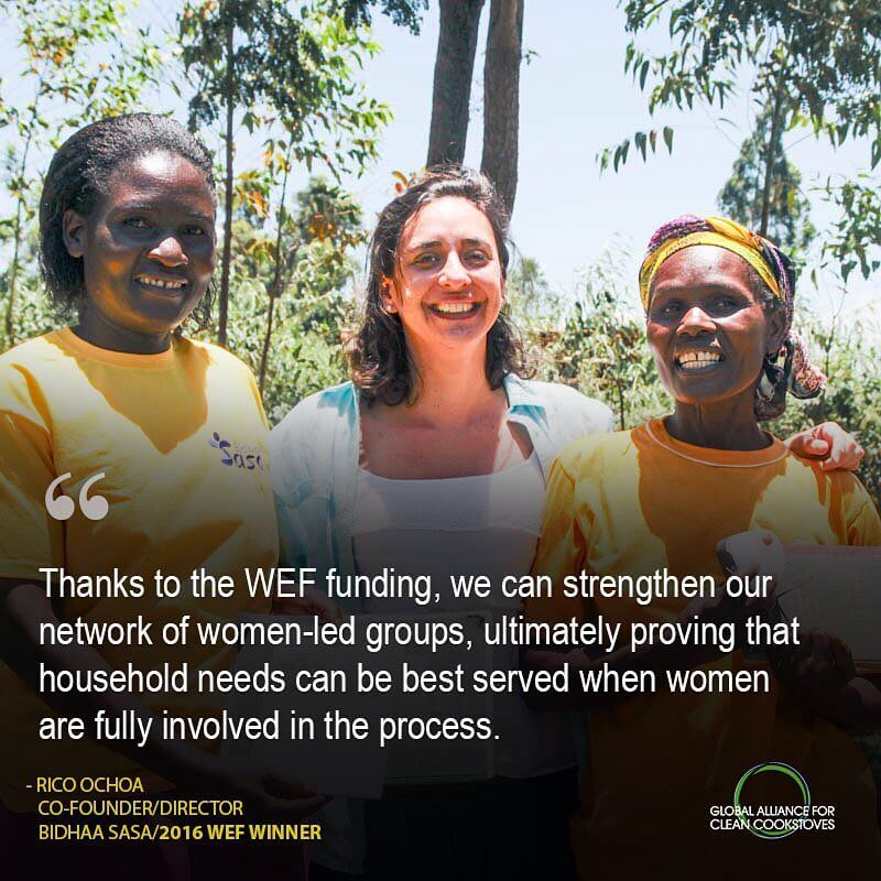Very happy to have won a grant to help us grow from @cookstoves and @unfoundation!
